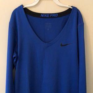 NikePro Dri-Fit Long Sleeve Workout Shirt